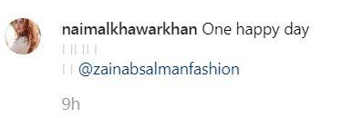 Naimal Khawar Khan Instagram