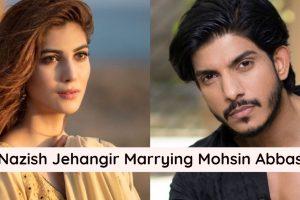 Nazish Jahangir with Mohsin Abbas Haider