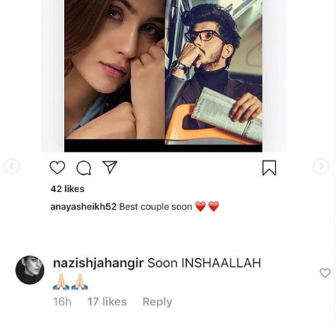 Nazish Jahangir Marrying Mohsin Abbas Haider