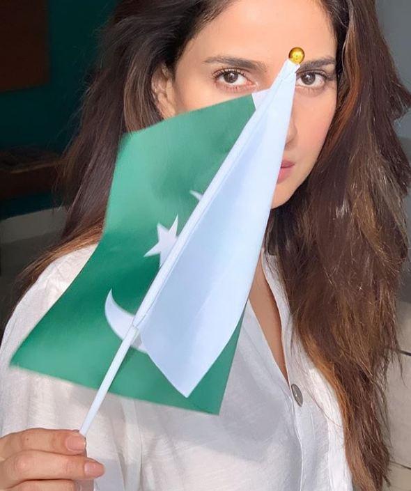 Saba Qamar on Independence Day