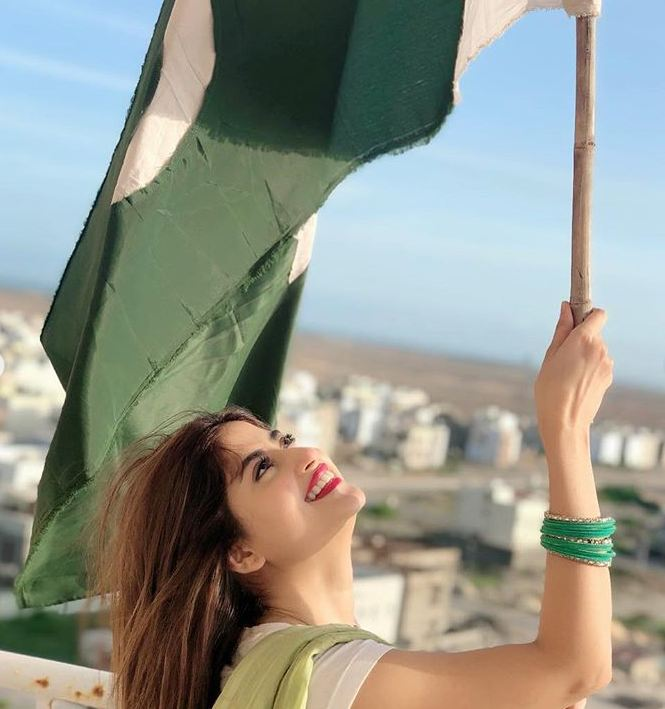 Sajal Aly on Independence Day