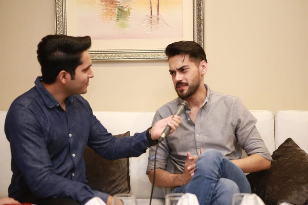 Parey Hut Love Promotions 2019| Dates , Dressing, Cast 13 shahbaz shigri at parey hut love promotion
