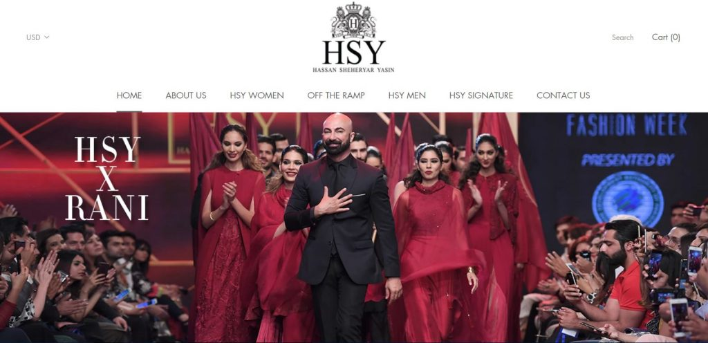 Hassan Sheharyar Yasin  the world of HSY
