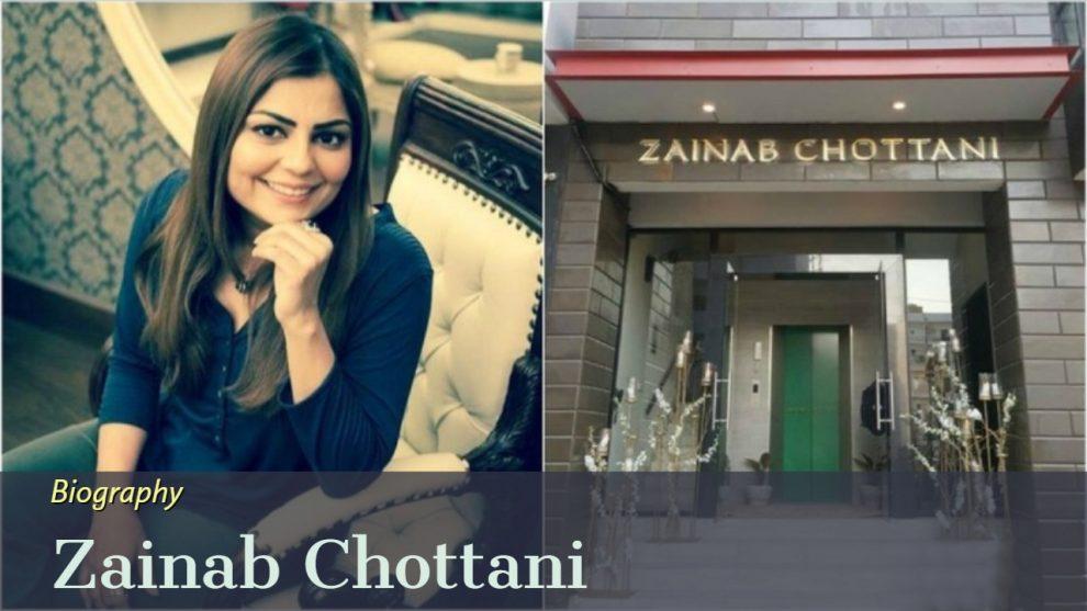 zainab chottani