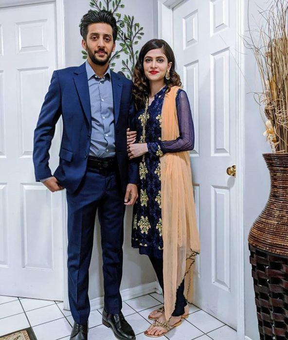 Ozair Ali with Areej Fatima