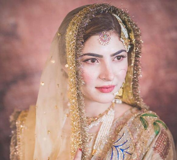 Naimal Khawar Khan Hair and Make Up