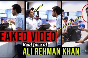 Ali Rehman Leaked video