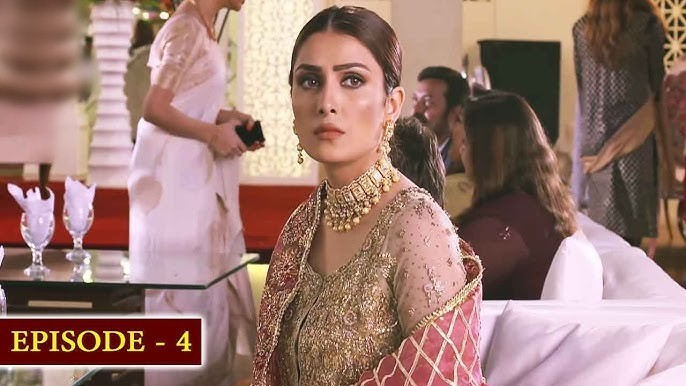 Ayeza Khan golden dress in Mere Paas Tum Ho
