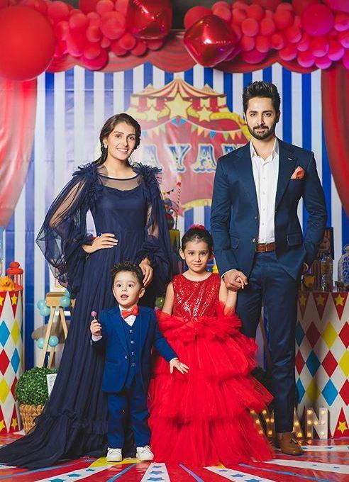 Ayeza Khan and family