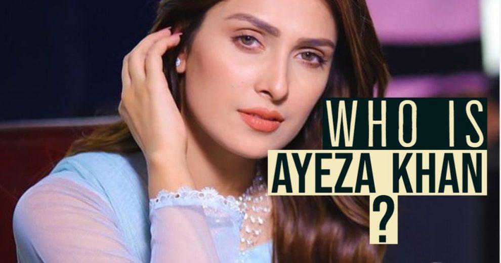 Who is ayeza khan