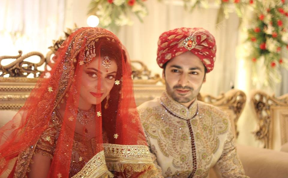 Everything You Didn't Know About Ayeza Khan|Ayeza Khan Biography 1 ayeza khan and danish taimoor baraat wedding pictures