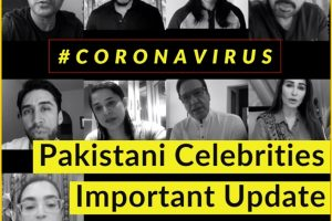 Paksiatni Celebrities Coronavirus social media awareness campaign