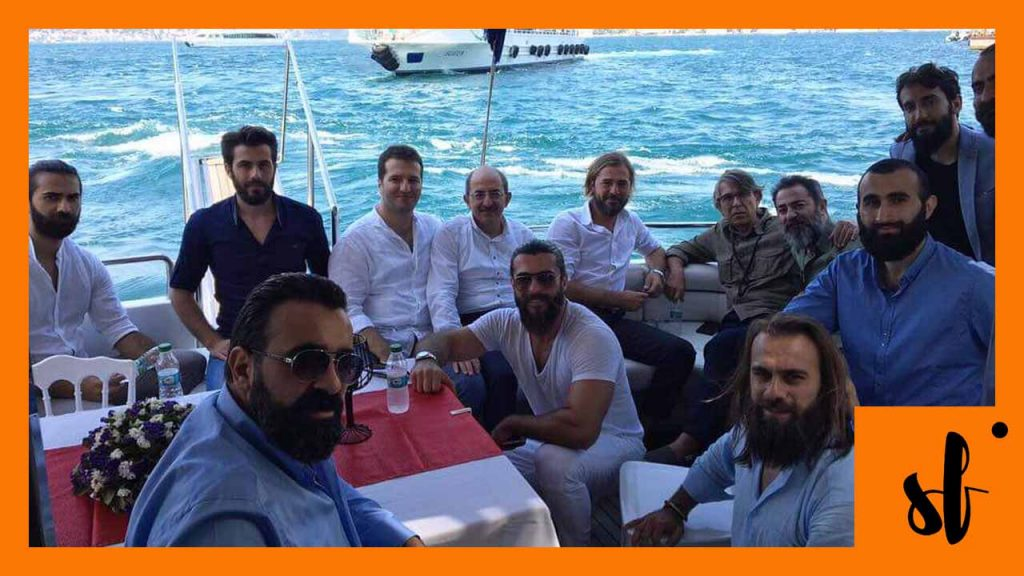 Ertugrul Ghazi Cast Behind the Scenes
