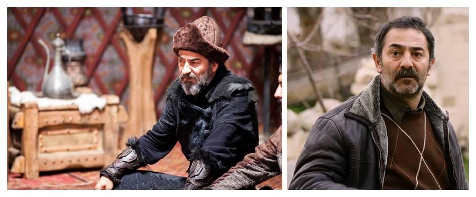 Ayberk Pekcan as Artuk Bey Ertugrul cast