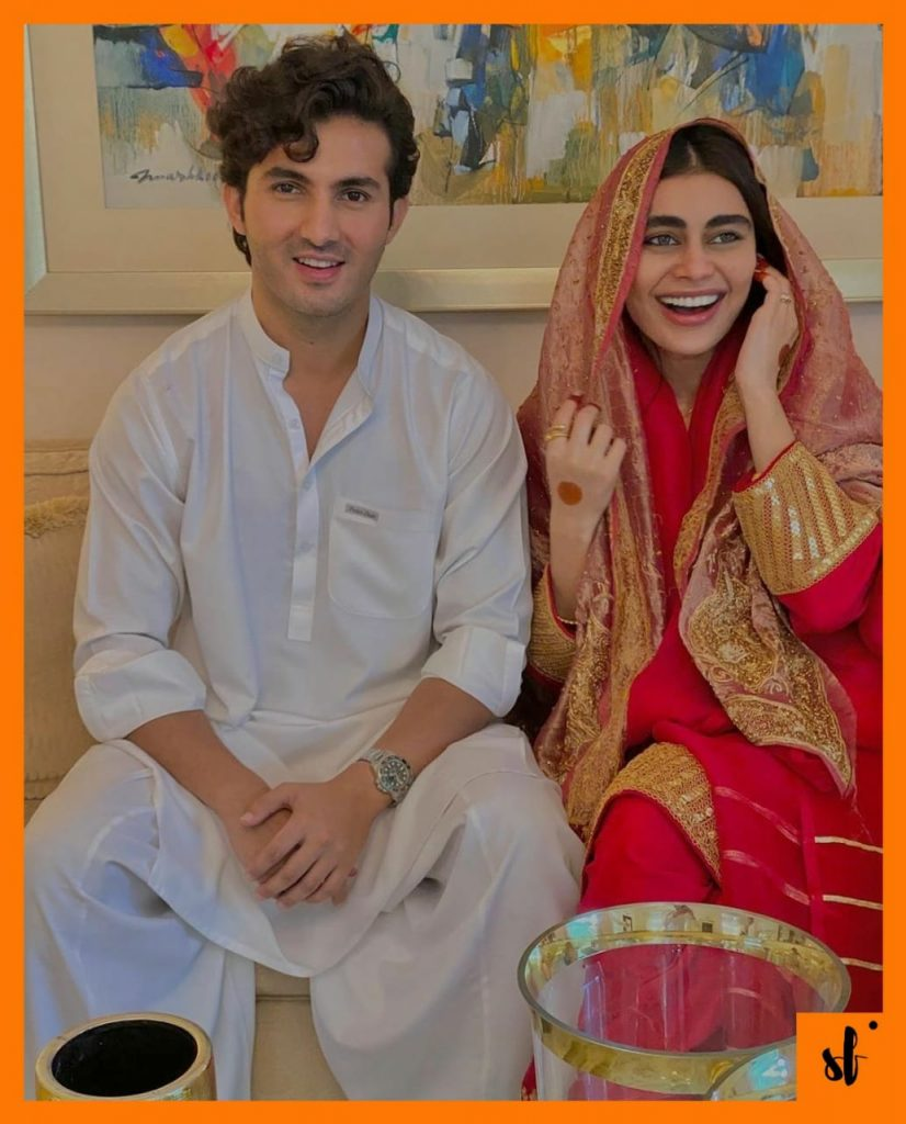 Sadaf Kanwal and Shehroz Sabzwari Nikah Pictures confirm the News 1 Actor Shahroze Sabzwari and Sadaf Kanwal Nikah picture
