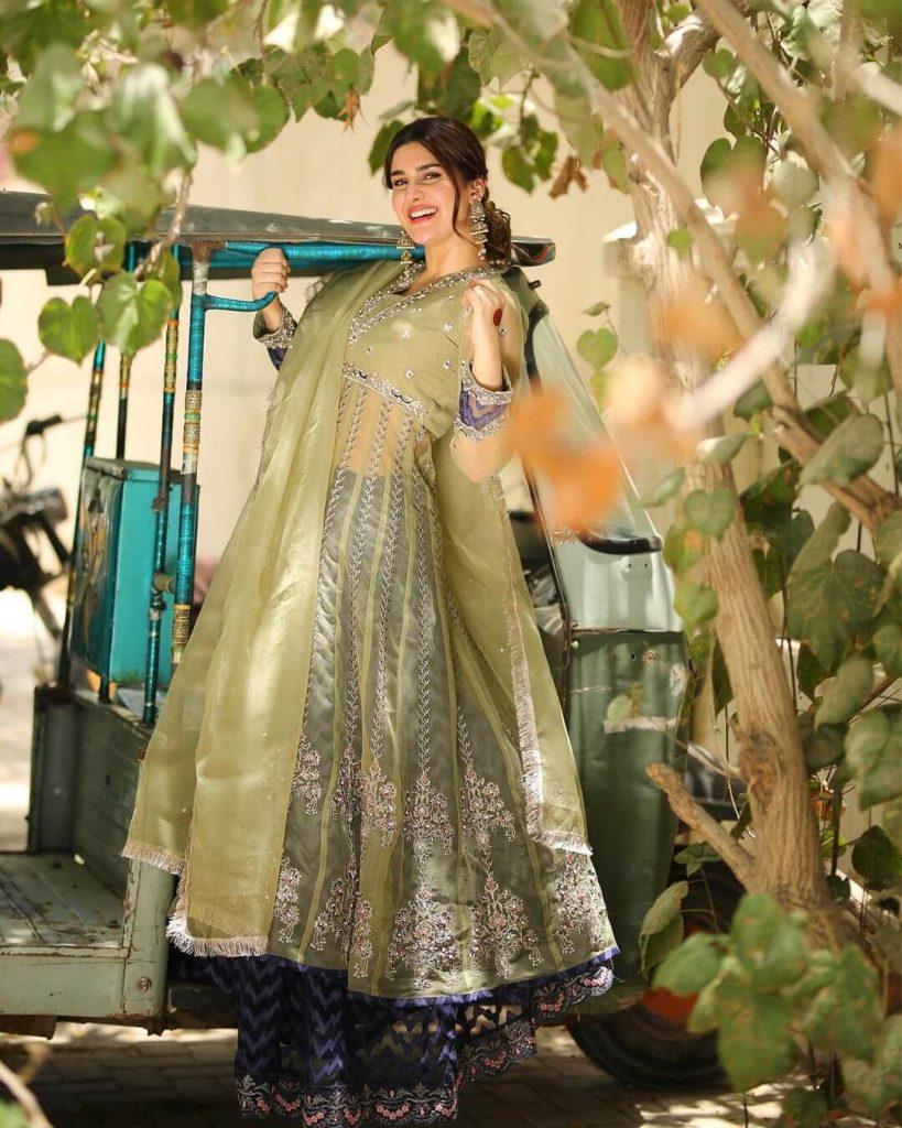 Actress Kubra Khan Eid pictures