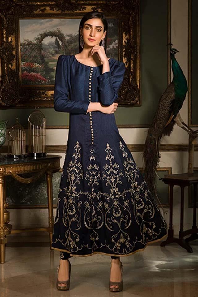 Amazing Mahum Asad Clothing Formal Collection 2020 2 Anarkali