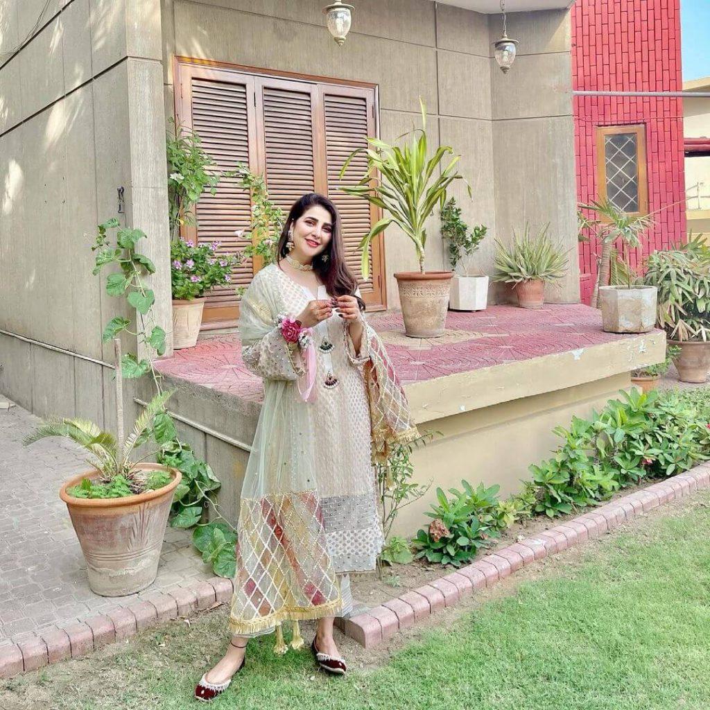 Areeba Habib Eid Outfit