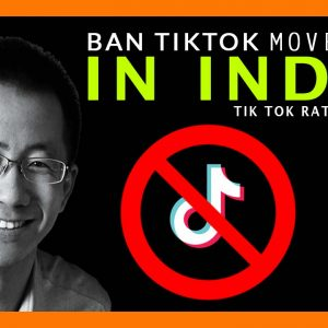 Unofficial Story of Ban tiktok movement & TikTok Rating Drop in India