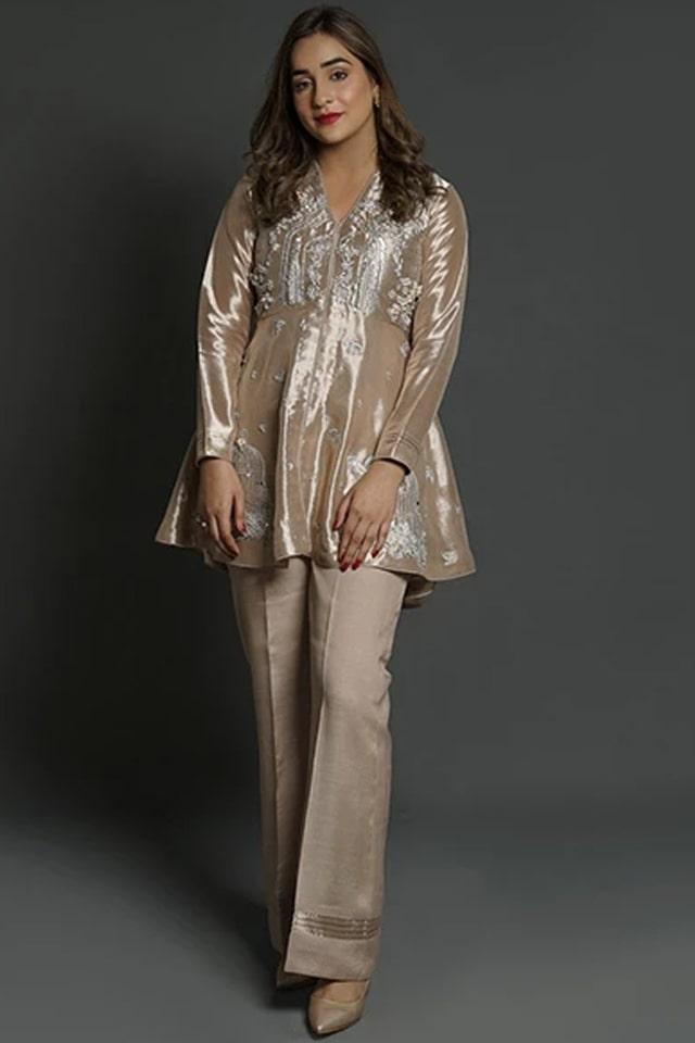 Amazing Mahum Asad Clothing Formal Collection 2020 6 Bird Cage Tissue Peplum min