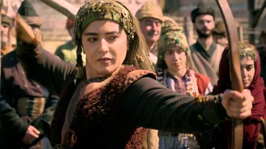Ertugrul Ghazi Cast Season 1 to 5 | Real life names of Ertugrul Cast and crew 77 Ezgi Esma Kürklü as Banu Çiçek