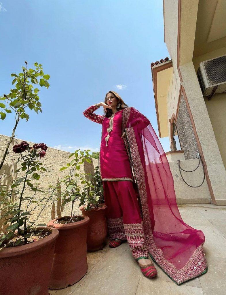 Hania Amir Eid Outfit
