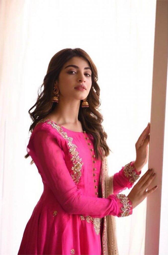 Kinza Hashmi Eid Outfit