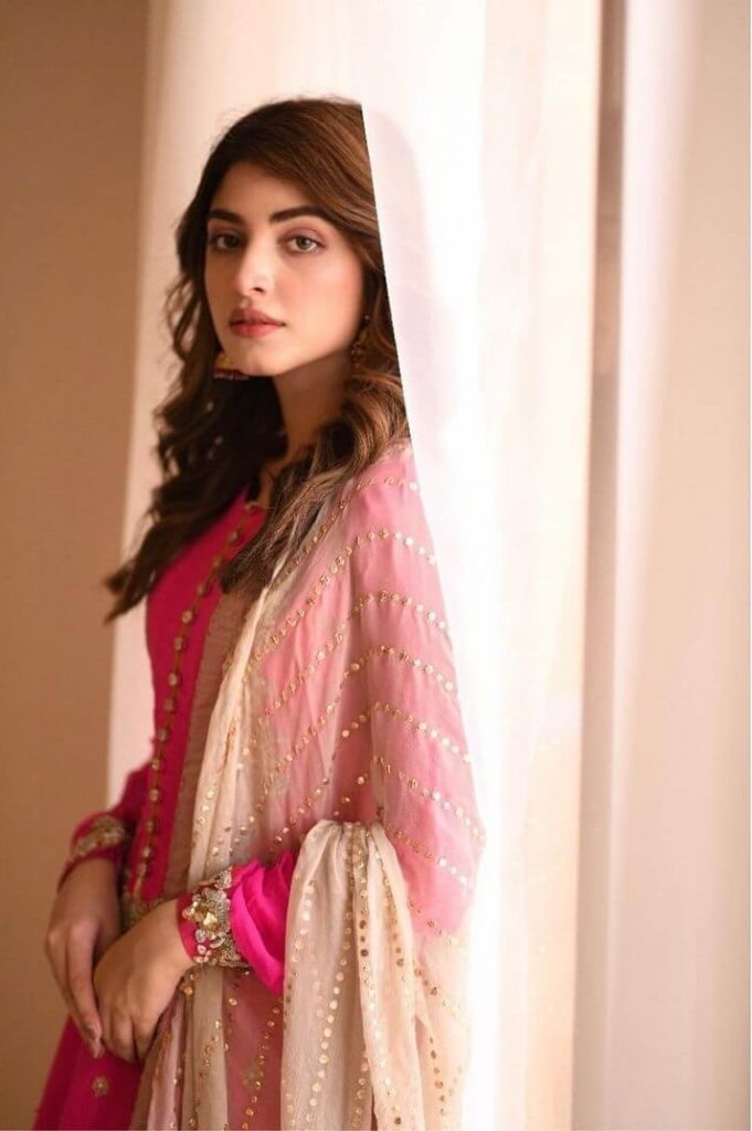 Kinza Hashmi Pink Dress
