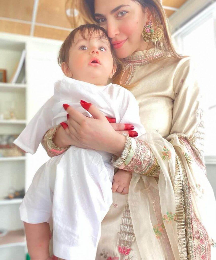 Naimal Khawar Eid Dress