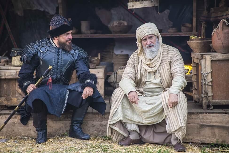 Ertugrul Ghazi Cast Season 1 to 5 | Real life names of Ertugrul Cast and crew 61 Ozman Sirgood as Ibni Arabi 1