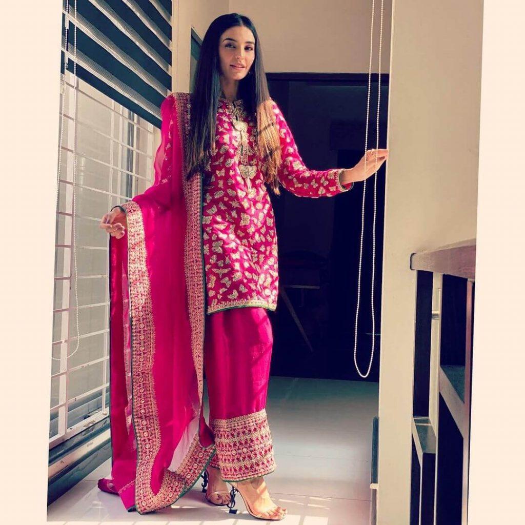 Sadia Khan Eid Dress