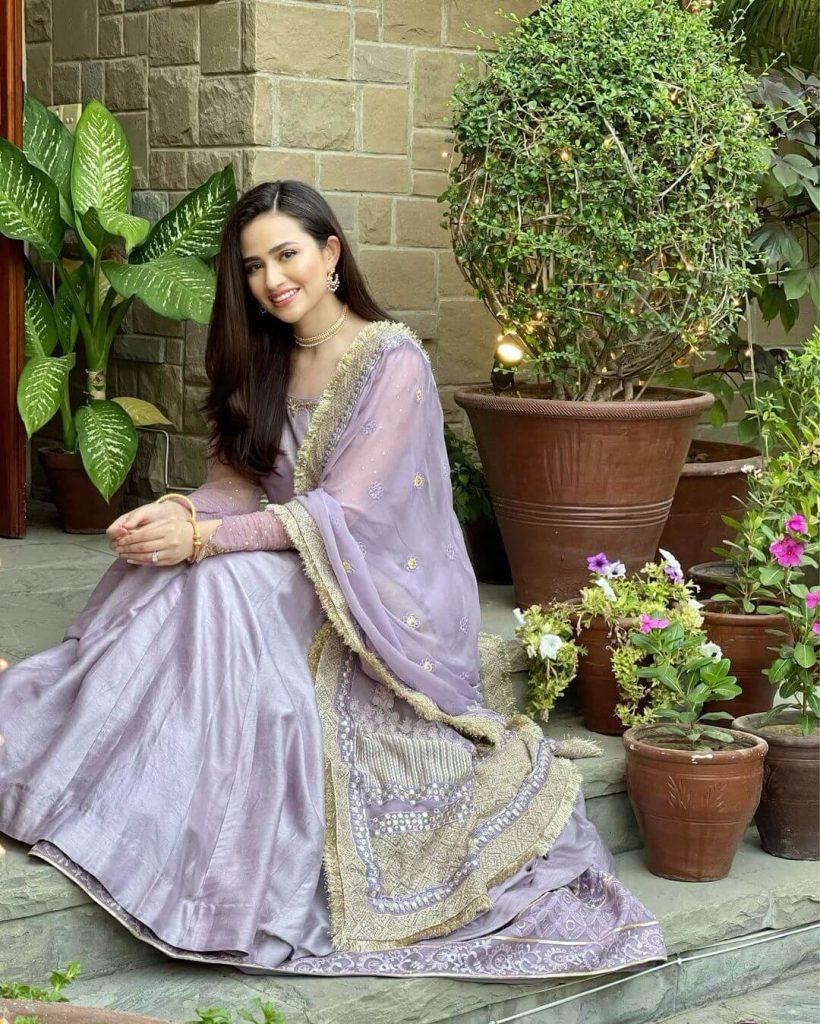 Sana Javed New Dress
