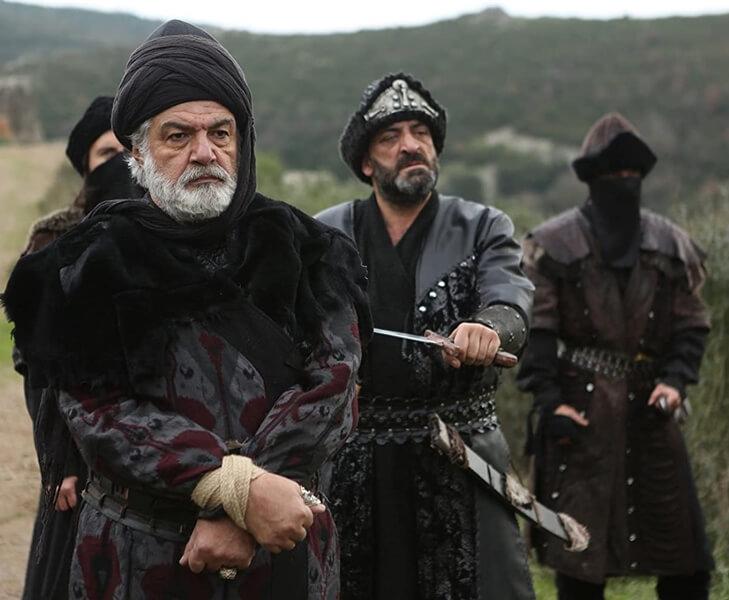 Ertugrul Ghazi Cast Season 1 to 5 | Real life names of Ertugrul Cast and crew 84 Serdar Gökhan as Süleyman Sah 5