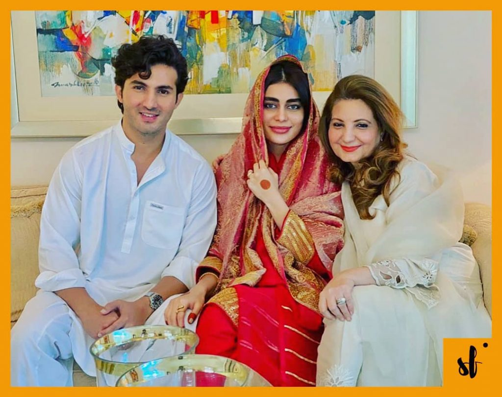 Sadaf Kanwal and Shehroz Sabzwari Nikah Pictures confirm the News 2 Shahroze Sabzwari Wife Sadaf Kanwal