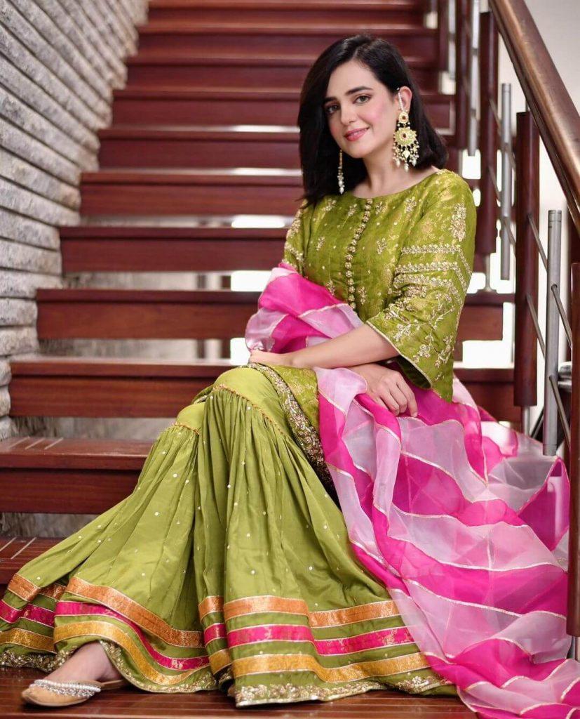 Sumbul Iqbal Eid Outfit