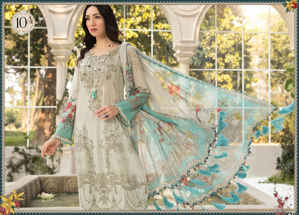Most Awaited Maria B Lawn Collection 2020 is here 36 10a 2