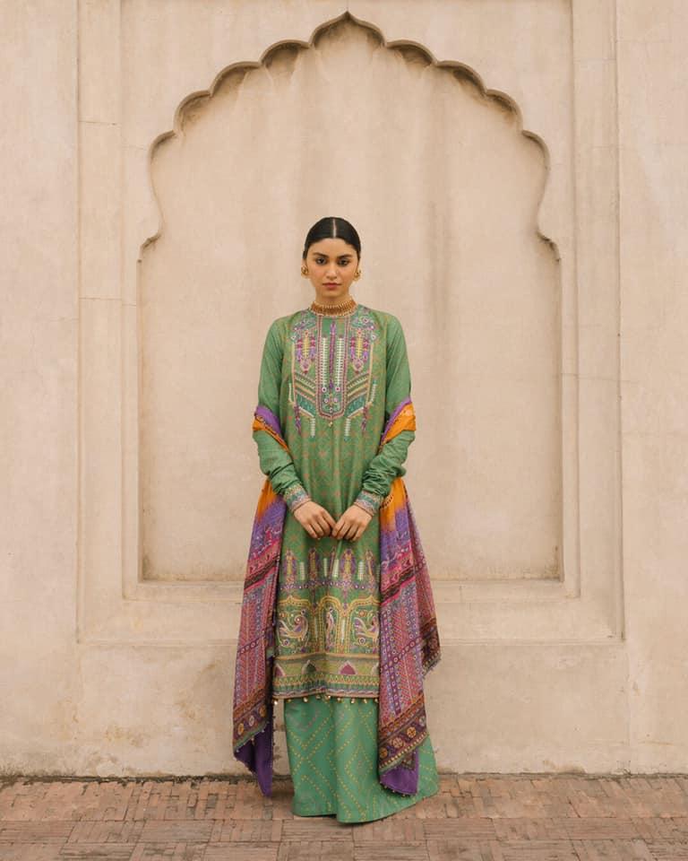Zara ShahJahan Lawn Collection 2020 7 11
