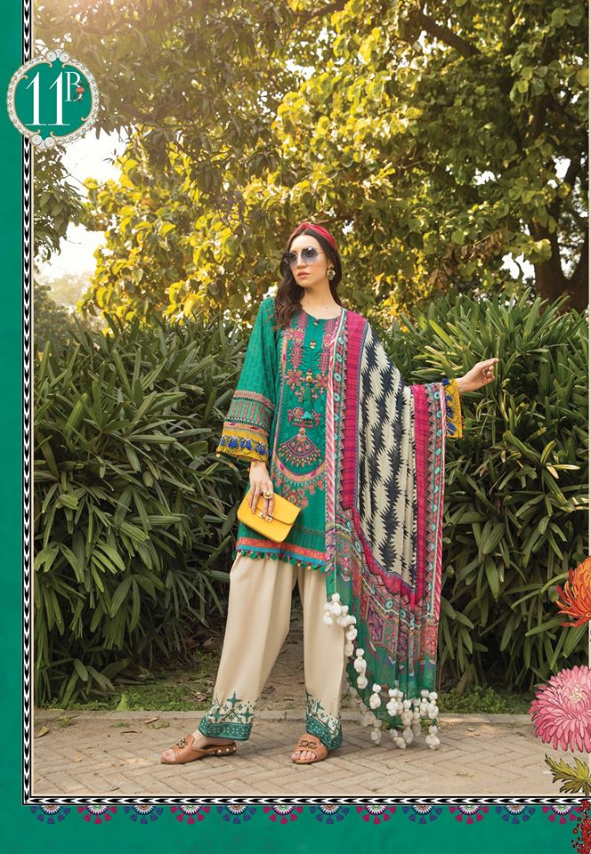 Most Awaited Maria B Lawn Collection 2020 is here 41 11b