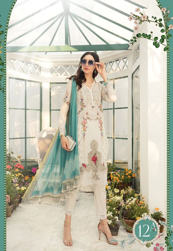 Most Awaited Maria B Lawn Collection 2020 is here 43 12a 1