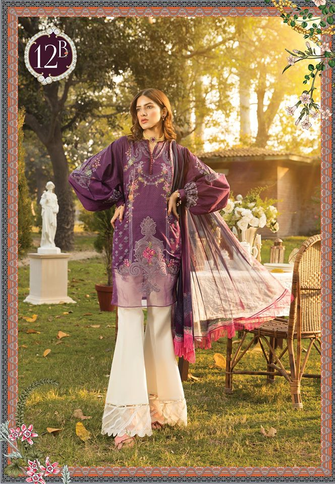 Most Awaited Maria B Lawn Collection 2020 is here 45 12b 1
