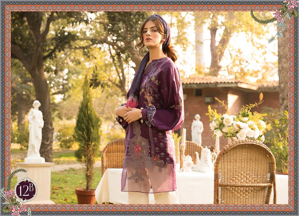 Most Awaited Maria B Lawn Collection 2020 is here 46 12b 2