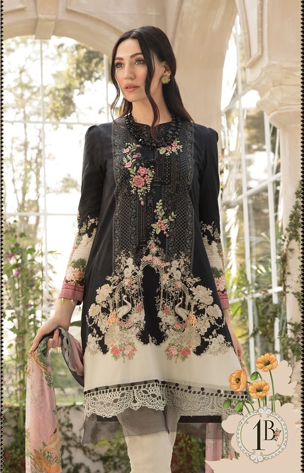 Most Awaited Maria B Lawn Collection 2020 is here 1 1b..