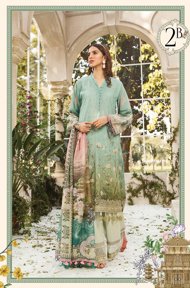 Most Awaited Maria B Lawn Collection 2020 is here 5 2b 1