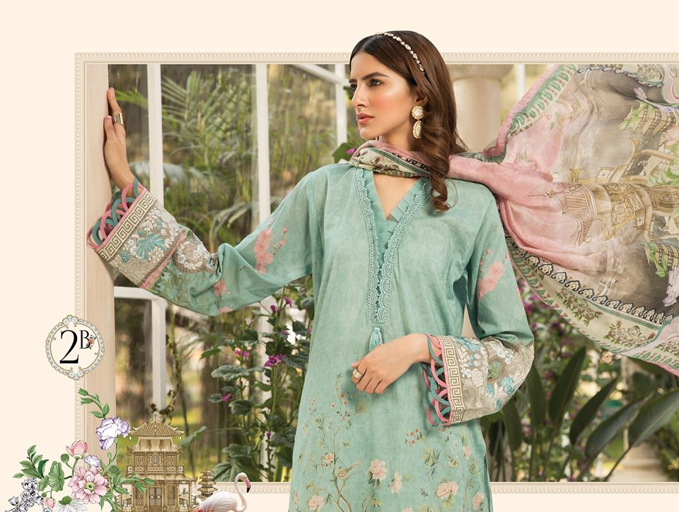 Most Awaited Maria B Lawn Collection 2020 is here 6 2b 2