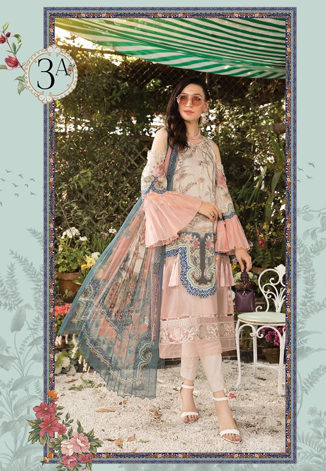 Most Awaited Maria B Lawn Collection 2020 is here 7 3a 1