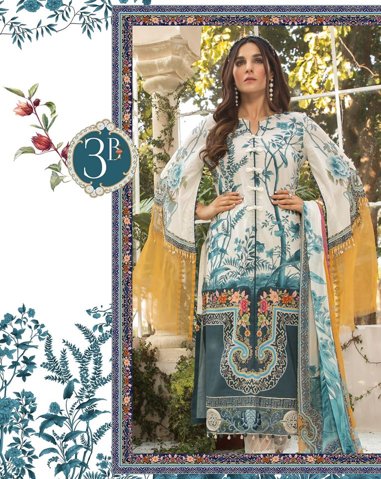 Most Awaited Maria B Lawn Collection 2020 is here 9 3b...