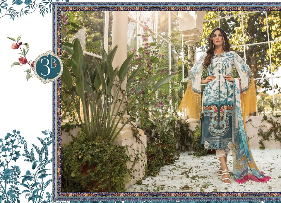 Most Awaited Maria B Lawn Collection 2020 is here 10 3b