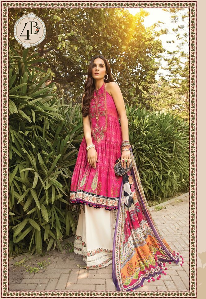 Most Awaited Maria B Lawn Collection 2020 is here 13 4b..