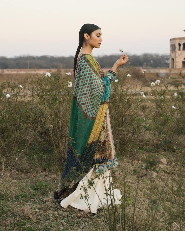 Zara ShahJahan Lawn Collection 2020 19 6A