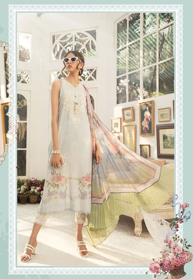 Most Awaited Maria B Lawn Collection 2020 is here 21 6b....